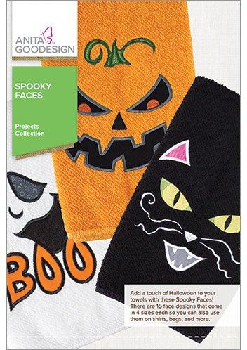 Anita Goodesign- Spooky Faces