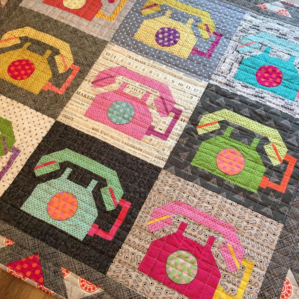 Off The Hook - Telephone Quilt Pattern