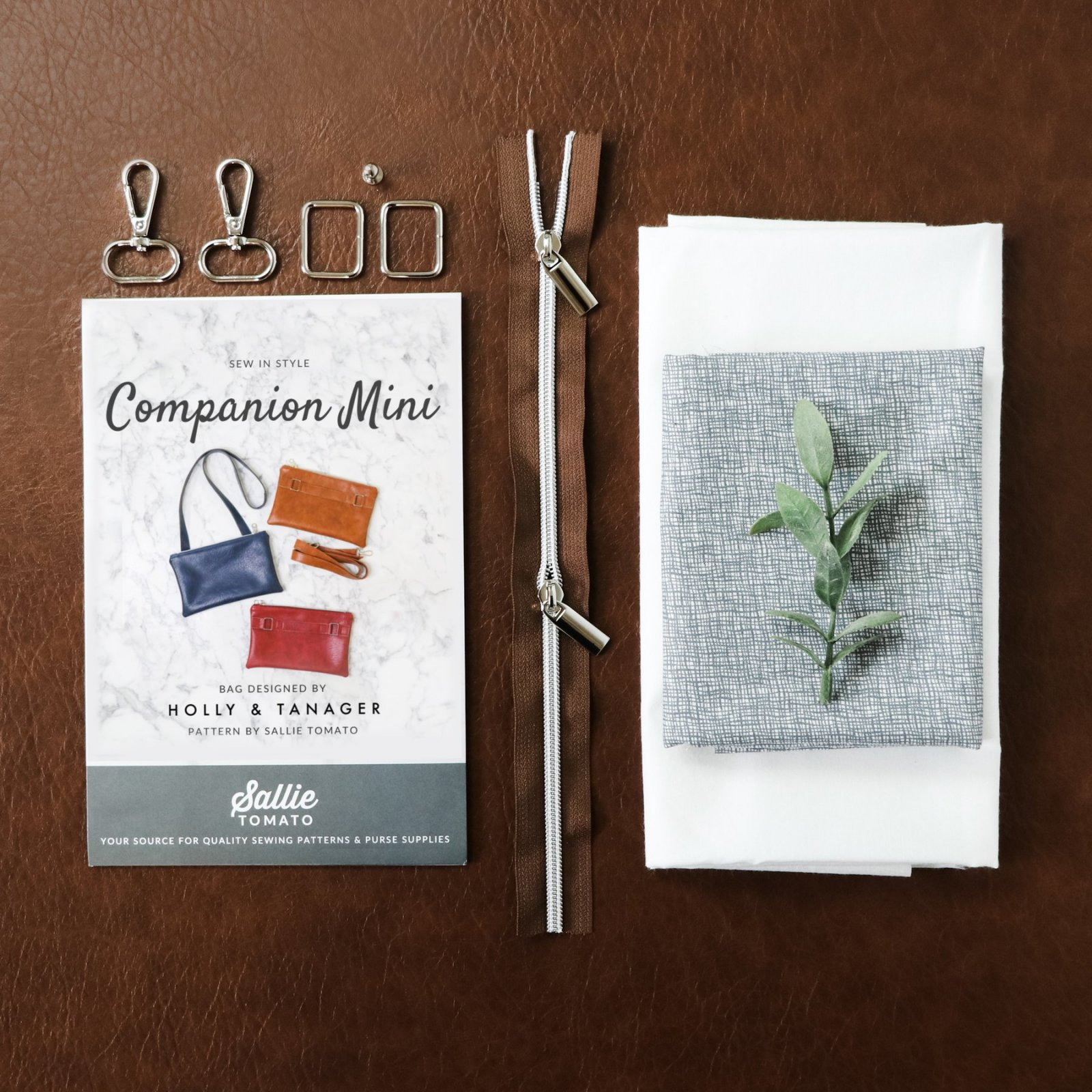 Sallie Tomato - Mini Companion Kit - Legacy Brown