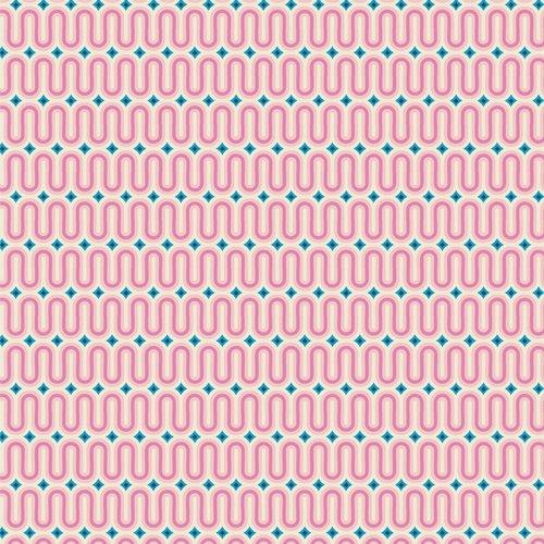 Live Art Gallery Fabrics - AGF Studio - Sunburst - Good Vibes Raspberry