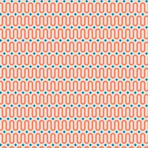 Live Art Gallery Fabrics - AGF Studio - Sunburst - Good Vibes Tangerine