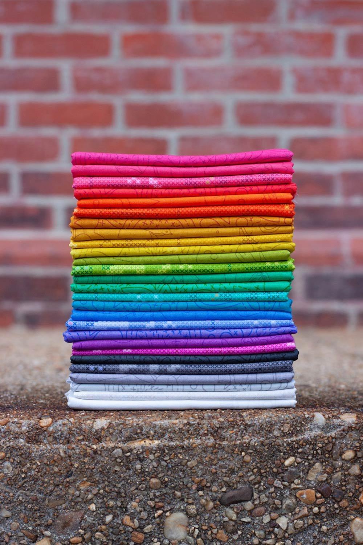 Andover Fabrics - Sun Print 2020 - One Yard Bundle