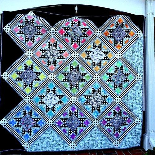 Tula Pink - Opening Night Quilt Pattern
