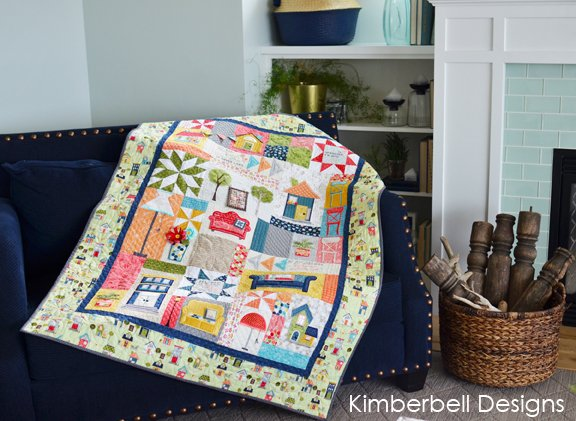 Kimberbell: Make Yourself at Home Quilt Kit (Embroidery)