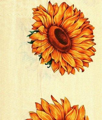 0006 Fabric Freedom Sunflowers    *25% Savings*    (One Yard Minimum Cut)