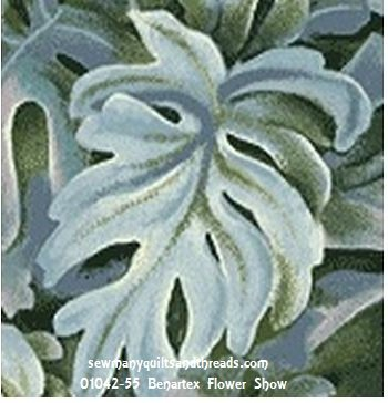 01042-55 Benartex Flower Show  *35% Savings*  (One Yard Minimum Cut)