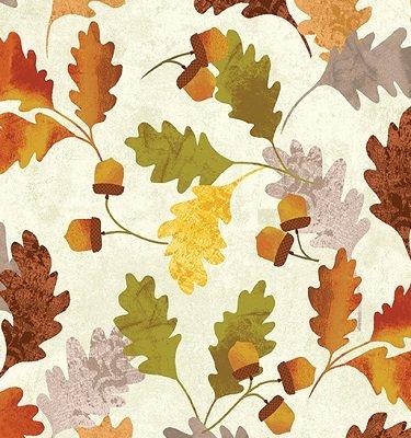 08319-07 Leaf Into Autumn Kanvas Studio for Benertex by Meria Kalinowski