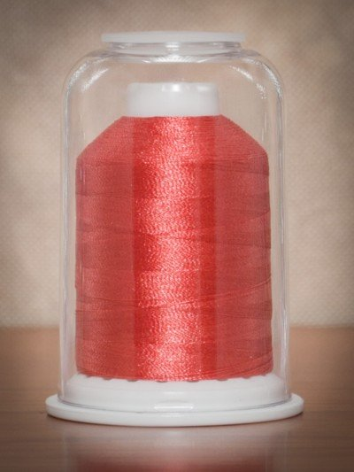 1018  Hemingworth Polyselect Embroidery Thread Dark Salmon