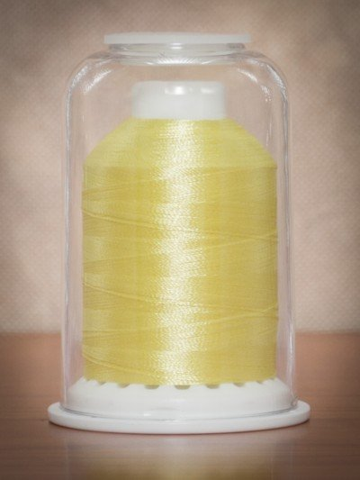 1044  Hemingworth Polyselect Embroidery Thread Canary Yellow