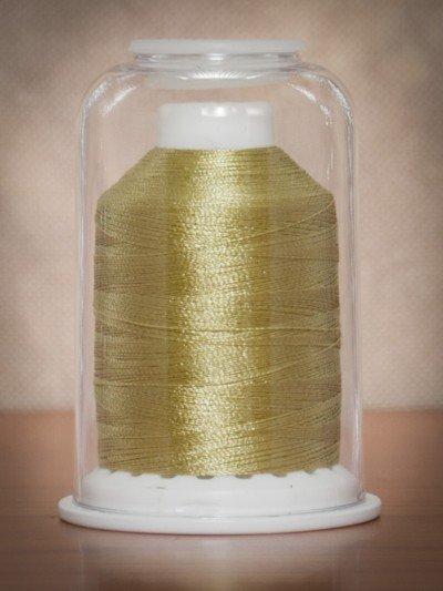 1098  Hemingworth Polyselect Embroidery Thread Cornsilk Green