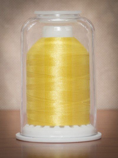 1226  Hemingworth Polyselect Embroidery Thread Sunshine Yellow