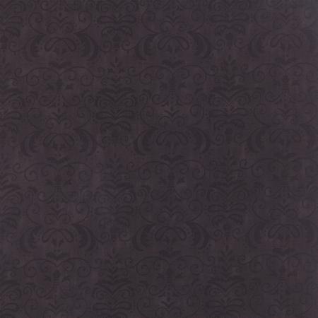 19714-12 Moda Forest Fancy Midnight Black