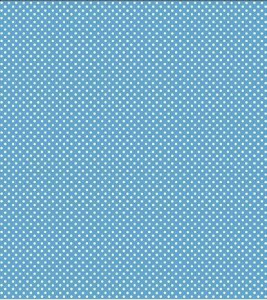 1GD6 In the Beginning Garden Dots Blue