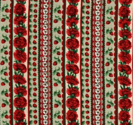 ChristmasCarnation Stripe 227-4