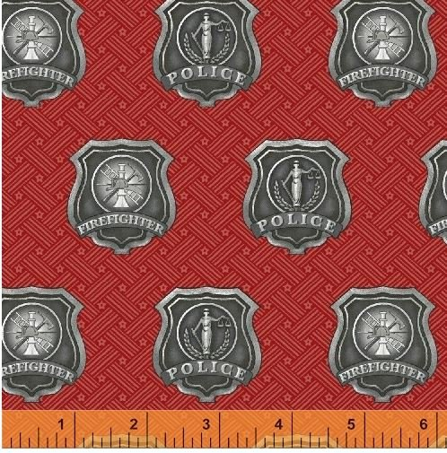36043-2 Windham Fabrics Heroes   *45% Savings*  (One Yard Minimum Cut)
