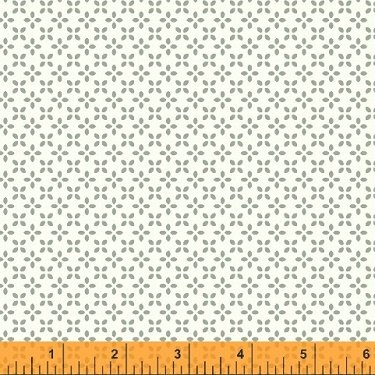41822-3 Uppercase Butterfly Floral in Grey by Janine Vangool for Windham Fabrics  *20% OFF MSRP*