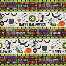 82424-976 Wilmington Every Witch Way Repeating Stripe Multi