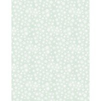 89152-791 Wilmington The Cardinal Rule Snowflakes Pale Green