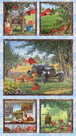 68759-472 Wilmington Prints Apple A Day Panel