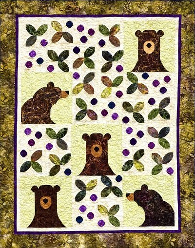 Bear-y Patches by Annette Ornelas Southwind Designs