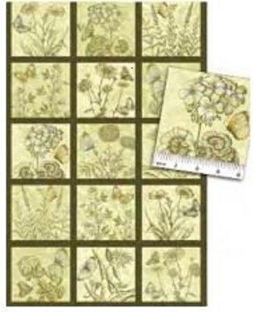 01280-44 Benartex Savannah Sage   *15% Savings*  (One Yard Minimum Cut)