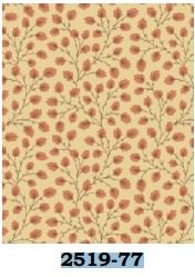 02519-77 Benartex Vine Rose Blush   *25% Savings*  (One Yard Minimum Cut)