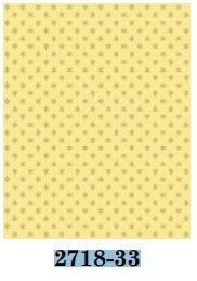 02718-33 Benartex Simple Snowflake Yellow  *25% Savings*  (One Yard Minimum Cut)