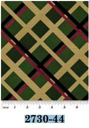 02730-44 Benartex Plaid Spectacular Pine    *15% Savings*  (One Yard Minimum Cut)