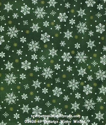 03486-49 Benartex Winter Wishes
