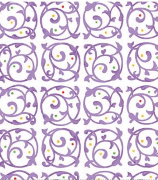 00864-60 Benartex This n That Chervil Violet