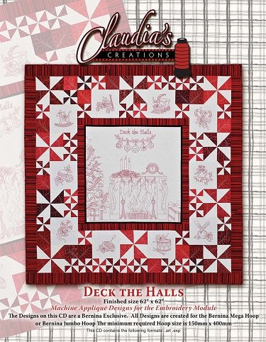 1PA60984 Deck the Halls from Claudia's Creations