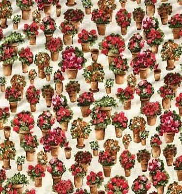 F0389-01 Fabric Freedom Country Garden   *50% Savings*  (One Yard Minimum Cut)