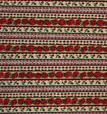 F227-4 Fabric Freedom Strawberry Delight    *50% Savings* (One Yard Minimum Cut)