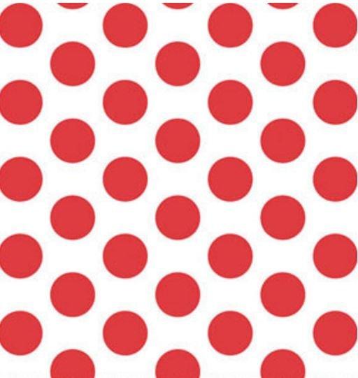 00861-10 Benartex This n That Gum Drops Red