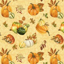 28055-578W Gourds and Leafs Toss lt Gold