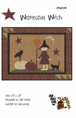 JPQ 2165G Wednesday Witch by Jan Patek for Moda