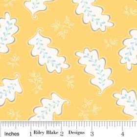 C2643-Yellow Riley Blake Promenade