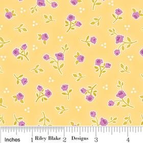C2644-Yellow Riley Blake Promenade