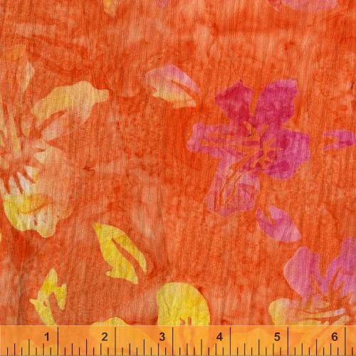 33748-1  Punch Batiks by Windham Fabrics  *50% Savings*  (ONE YARD MINIMUM CUT)