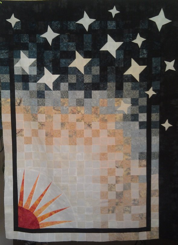 Starry Starry Night Quilt Kit