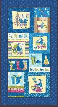 03210-55 Benartex Secret Santa Panel