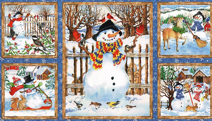 77217-412 South Sea Imports Snow Magic Panel