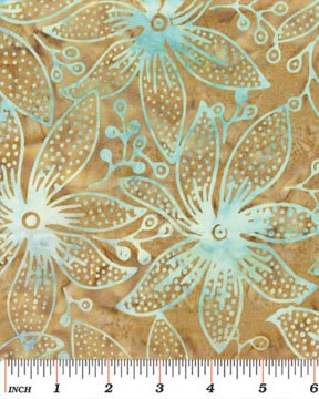 03685-07 Benartex  Treasure Island Balis Batiks Batiks Orchid Sand  *50% Savings*  (ONE YARD MINIMUM CUT)