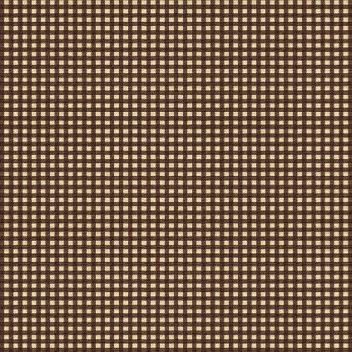 27684-4 Windham Fabrics Basics Squares Brown    *20% Savings*  (One Yard Minimum Cut)