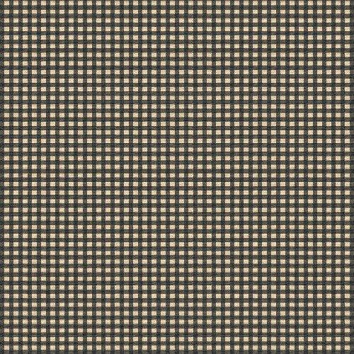27684-5 Windham Fabrics Basics Squares Black    *20% Savings*  (One Yard Minimum Cut)
