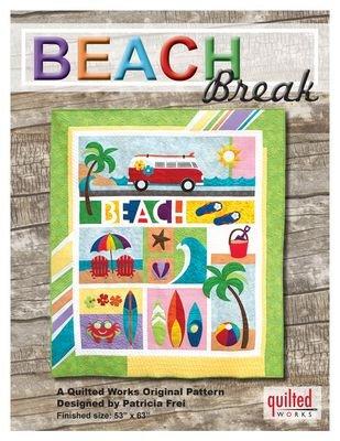 Beach Break Laser Cut