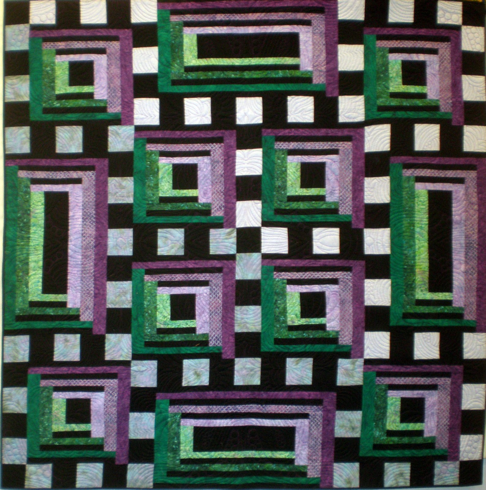 Bold and Beautiful Quilt Pattern