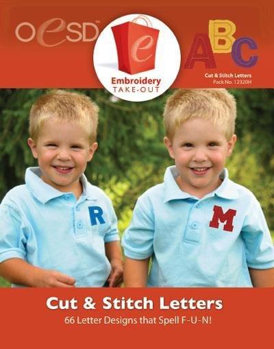 Cut & Stitch Letters
