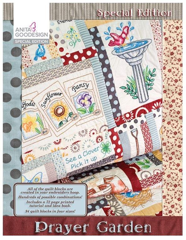 Prayer Garden Embroidery Cd By Anita Goodesign 079673004851