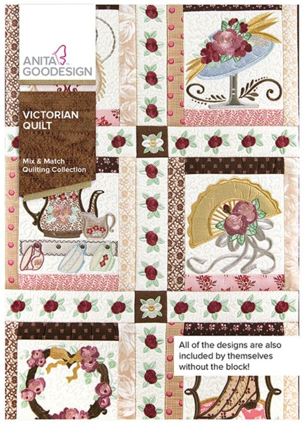 Victorian Quilt Embroidery CD